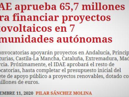 Ahora es el momento de que Andalucía Genere Energía. Que se agilicen las autorizaciones administrativas!!!